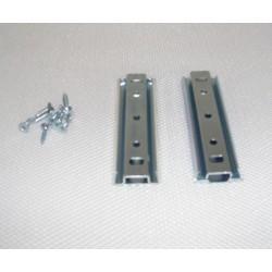 Glissière de fixation métallique